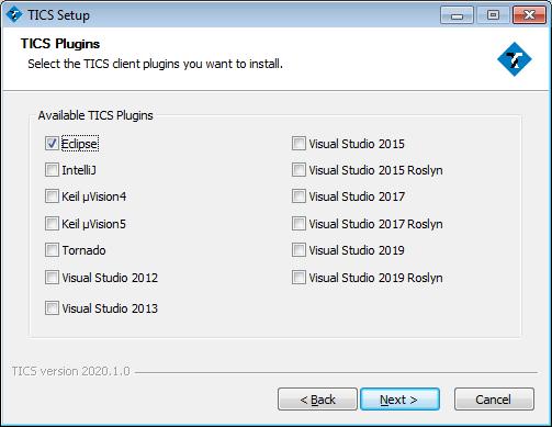 TICS Eclipse Plugin